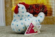 Vintage Dakin 1993 Farm Rooster #05315 Noise Cocka-doodle-doo Plush Stuffed wtag