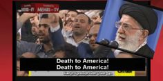 IRAN: Iran's Supreme Leader Ayatollah Khamenei presiding over chants of