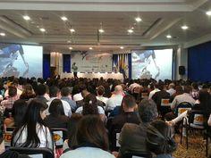 Durante mi ponencia sobre marketing responsable en el salón del Hotel Dann Carlton de Medellín donde se celebraba el VI Congreso Internacional de Negocios