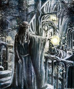 A lament for Gandalf by Artofjuhani.deviantart.com on @deviantART