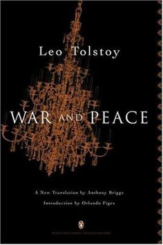War and Peace (Penguin Classics, Deluxe Edition) by Leo Tolstoy…Great book, so I've heard!  Someday, I do plan to read it!