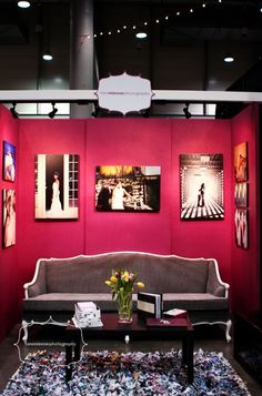 bridal show booth ideas | wedding booth expo idea...not a fan of the ... | Wedding Show Booths