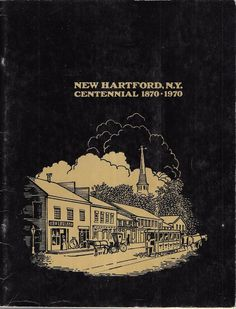 New Hartford 1968 Fire Dept Photo Roster in a Centennial Commemorative New York