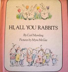 Hi, All You Rabbits Carl Memling Parents Magazine 1970 LoveVintageAlways