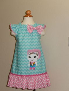 Sheriff Callie Flutter Sleeves Dress by Just4Princess on Etsy, $38.00