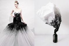 Fantasy Wedding Dress by Marchesa Spring 2011 | Smoke by Andrew Kim