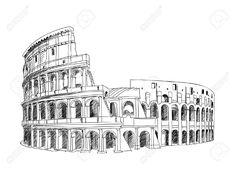 20980842-Colosseum-in-Rome-Italy-Landmark-of-Coliseum-hand-drawn-illustration-Rome-city-landscape--Stock-Vector.jpg 1,300×997 pixels