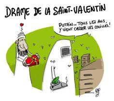La Saint-Valentin #CharlieHebdo