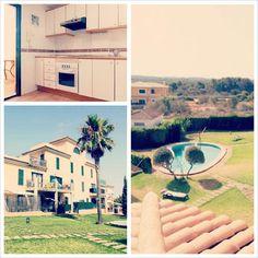 Además de vistas panorámicas nuestra #casadeldía tiene una #piscina como ésta: www.fincasfiol.com/las-palmeras/