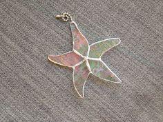 Stained Glass Star Fish Ceiling Fan Pull    https://www.etsy.com/listing/162883719/stained-glass-star-fish-ceiling-fan-pull