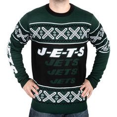 jets ugly sweater