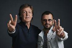 """Paul McCartney and Ringo Starr photographed at a promotional day at Abbey Road Studios on Wednesday 14th September on the eve of the cinematic release of the new Ron Howard documentary """"The Beatles: Eight Days A Week - The Touring Years"""".    The pair will attend The World Premiere in London's Leicester Square on Thursday 15th September. The film also opens worldwide on the same date.  Photo: MPL Communications/Charlie Gray"""