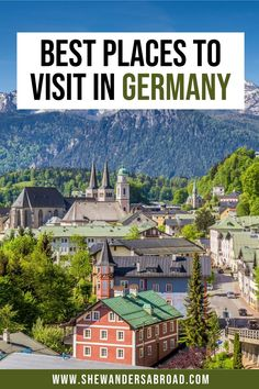 From beautiful small towns to peaceful countrysides, fairytale castles and lively cities, here are the absolute best places to add to your Germany bucket list. | Germany travel tips | Best places in Germany | Best places to visit in Germany | Prettiest places in Germany | What to do in Germany | Germany travel guide | Bucket list locations in Germany | Things to do in Germany | Germany places to visit | Best cities in Germany | Berlin | Frankfurt | Germany castles | Black Forest | Cologne