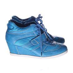 Anna Field, Sneakers, Strl: 41, Blå