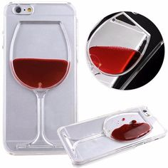 If you love Wine, this is the iPhone Case for you. These Red Wine iPhone Cases are a MUST HAVE! Not available in Stores / Limited Quantity Remaining Product Information: - Fits: 4, 4S, 5, 5S, 6, 6S, 6