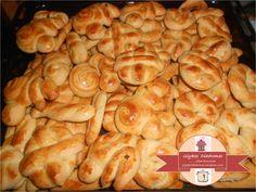 Easter cookies Easter Cookies, Pretzel Bites, Bread, Snacks, Chicken, Food, Spring, Appetizers, Brot