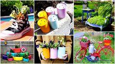 1-Creative Garden Container Ideas