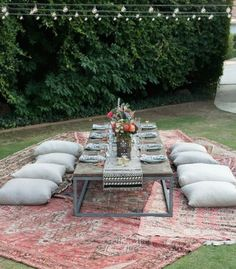 New Garden Party Seating Outdoor Settings Ideas Whether in the . New Garden Party Seating Outdoor Settings Ideas Whether in the early afternoon or Small Garden Party Ideas, Boho Garden Party, Backyard Ideas, Garden Ideas, Ideas Party, Party Themes, Summer Garden, Outdoor Dinner Parties, Dinner Party Table