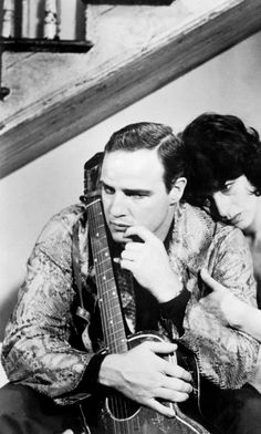 Marlon Brando and Anna Magnani ~ The Fugitive Kind, 1960