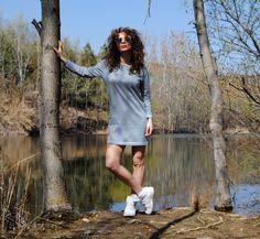stripe dress RAG Fashion Collection