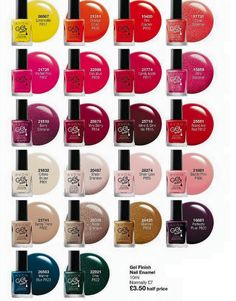Check Out All the New Avon Nail shades All available On my website Below!