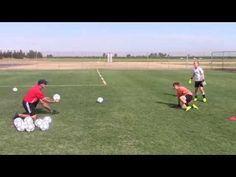 Goalkeeper Training U10 U12 Seriousgoalkeeping Net Youtube Goalkeeper Training Goalkeeper Soccer Goalie