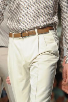 Simone Nobili runway @ Ermenegildo Zegna Spring/Summer 2013 Milan Fashion Week (June 23, 2012 11:00)