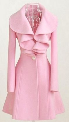 Pink Vintage Dior Coat paired with pink 24