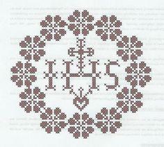 Weihkorbdecken Counting Pattern - Christmas Basket - Themes Source by marijaweisskirchen Christmas Baskets, Easter Cross, Lost Art, Chrochet, Knitting Projects, Doilies, Hand Embroidery, Cross Stitch, Pattern