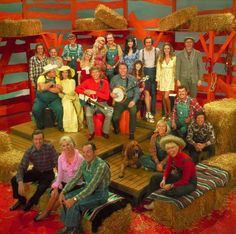 The hee-haw band I remember sitting and watching this show with my Grammy. She loved it...it was entertaining.