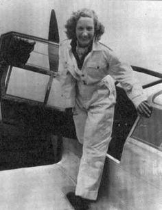 """""""beryl markham! aviator, adventurer, author, 1st woman to fly solo across theatlanticfrom E to W #FilmHerStory"""""""