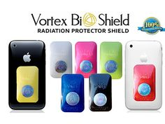 ONE Vortex BioShield Smartphone Quantum Radiation Protector Shield - Offers Complete Electro Magnetic Field (EMF) and Anti-Radiation Protection - Fits all cell phones plus iPhone Versions 4-6 - No Signal Interference - #1 Cell Phone Radiation Protection.
