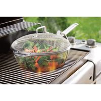 8.5-Qt. Mesh Grilling Pan: Shake, Rattle and Roll