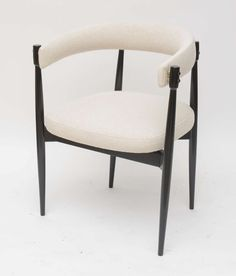 Pair of Danish Chairs in the Style of Nanna Ditzel   From a unique collection of antique and modern armchairs at https://www.1stdibs.com/furniture/seating/armchairs/