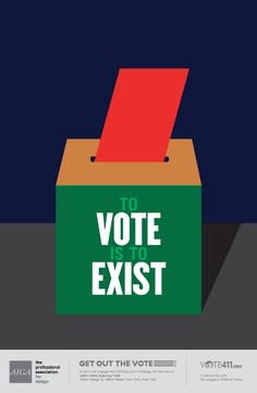 milton-glaser-aiga-get-out-vote-poster