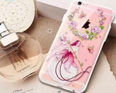 Silikónový obal s kryštálmi KAVARO pre iPhone 6 Plus : Apple Iphone, Iphone 6, 6s Plus, Mobiles, Mobile Phones