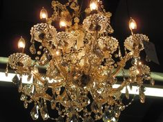 Crystal Chandelier #Unknown #Traditional 28 X28 $1600 BOGART ga