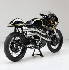 THE HOLY GRAIL: Norvin by Stile Italiano. - Pipeburn Custom Motorcycles, Custom Bikes, Vincent Black Shadow, Harley V Rod, Triumph Motor, Custom Clutches, Cafe Racer Magazine, Ducati St2