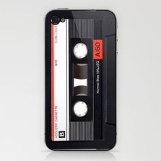 Old School Tape iPhone & iPod Skin