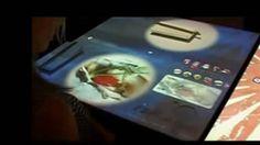 La mesa inteligente, uno de los inventos del 2015. Computer Mouse, Highlights, Fingers, News, Blue Prints, Mouse For Computer, Mice, Rat