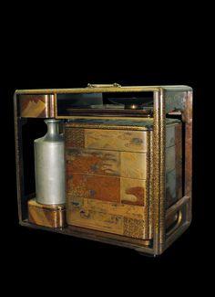 Japanese Laquer Picnic Box  Late 19th C