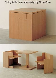 1000 images about transforming furniture dual use on pinterest multipurpose furniture - Transforming furniture for small spaces image ...