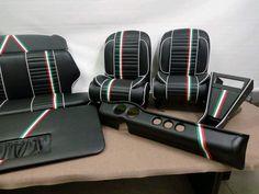 Per Fiat 500 DFLR Interni Sportivi 5 Fiat 500, Volkswagen Golf Mk2, Fiat Abarth, Car Seats, Sport, Cars, Vehicles, Ebay, Vintage