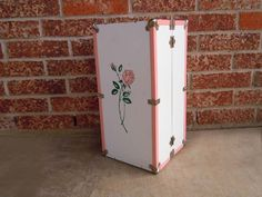 Vintage Toy 1960s Doll Trunk  17 Inches. $34.
