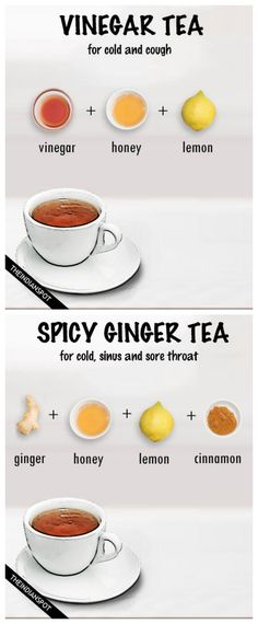 4 COLD FIGHTING HOT DRINK RECIPES
