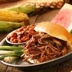 Best recipes for Labor Day picnics: Barbecue pork or beef in the crock pot