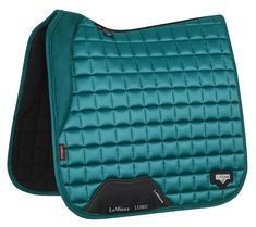 The amazing new luxury LeMieux Loire Dressage Saddlepad - Peacock English Horse Tack, English Saddle, Riding Hats, Horse Riding, Riding Gear, Equestrian Outfits, Equestrian Style, Equestrian Fashion, Horses