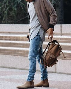 21 Cool Men Outfit Ideas With Chelsea Boots