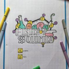 Bullet Journal Notes, Bullet Journal Lettering Ideas, Bullet Journal School, Notebook Art, Notebook Covers, Lettering Tutorial, Hand Lettering, Projekt Mc2, School Notebooks