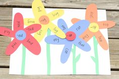 Activity for 4 to 6 year olds. Do your kids have a serious case of spring fever too?  This word family garden is a great way to focus all of that warm weather daydreaming on an important reading concept: word families! Put simply, word families are groups of words that share similar spelling patterns.  For …